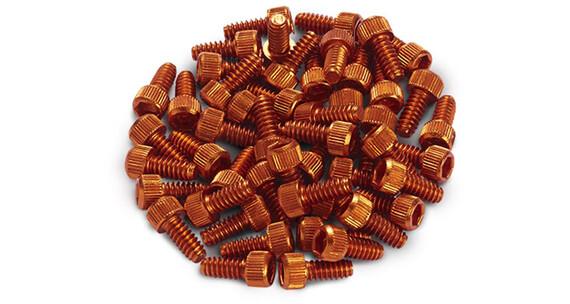 Reverse Pedal Pins US-Size Orange
